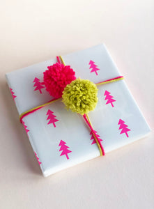 A Very Pink Holiday Gift Wrap