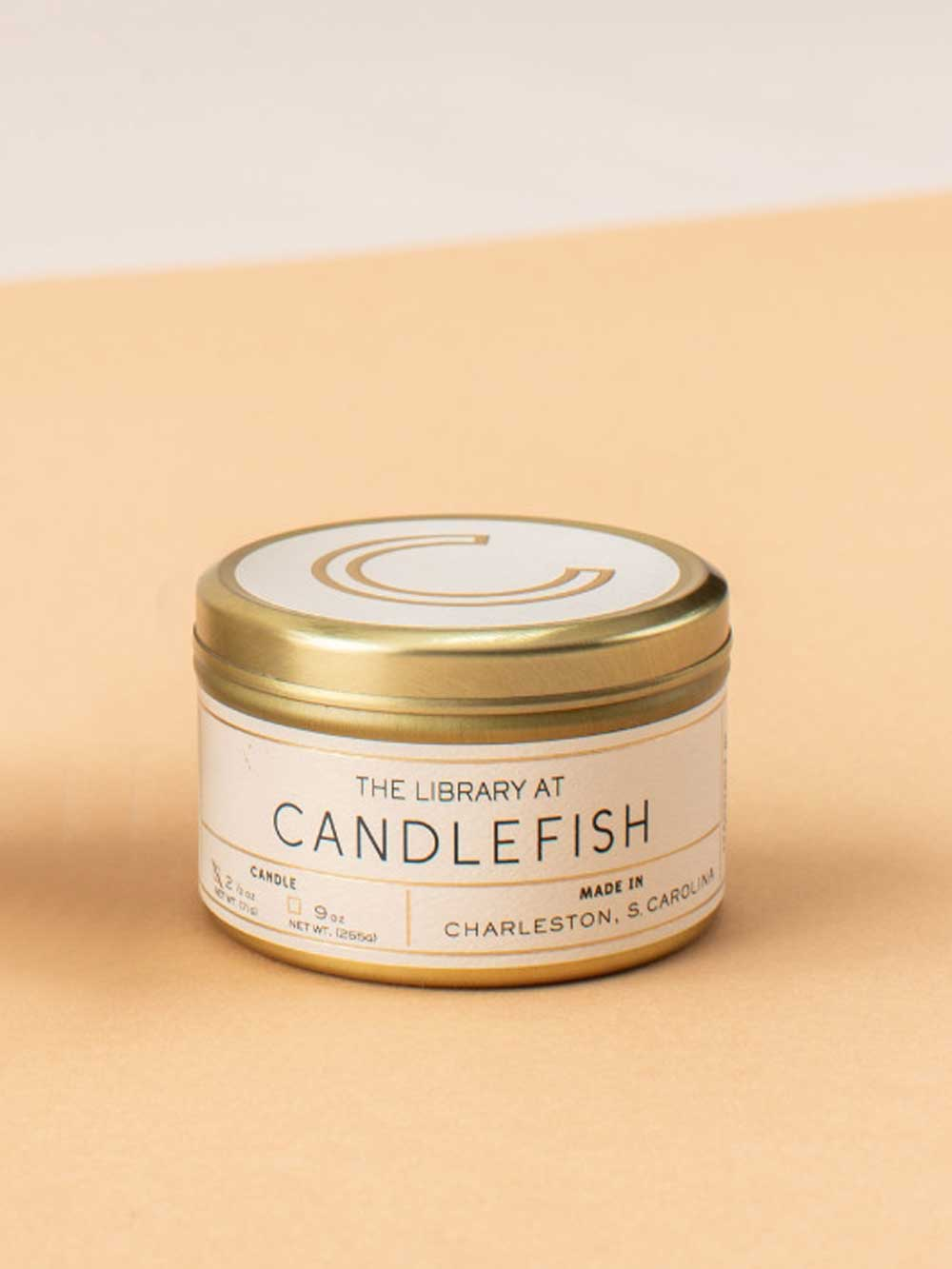 Candlefish No.67 Travel Candle