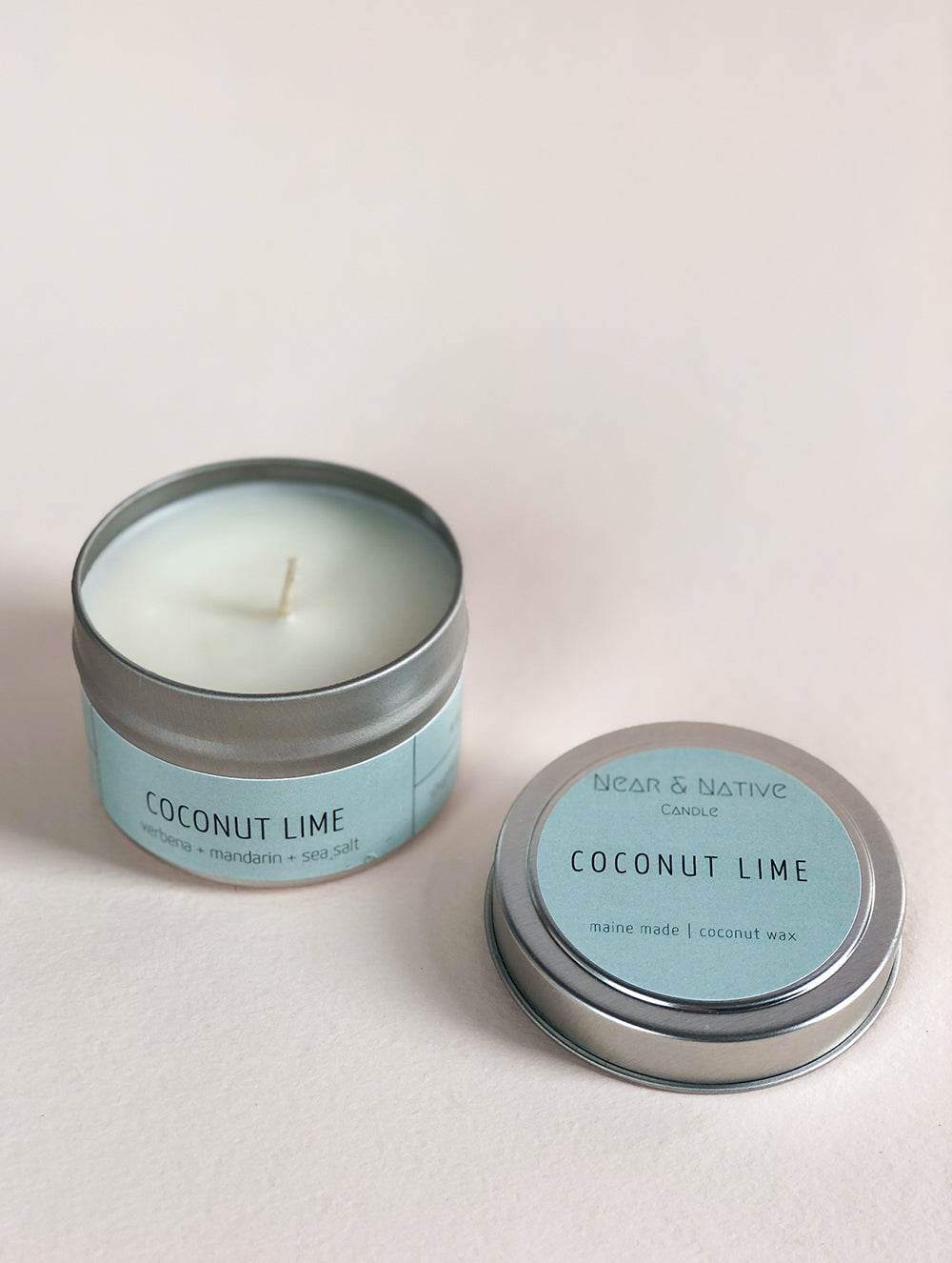 Coconut Lime Travel Candle