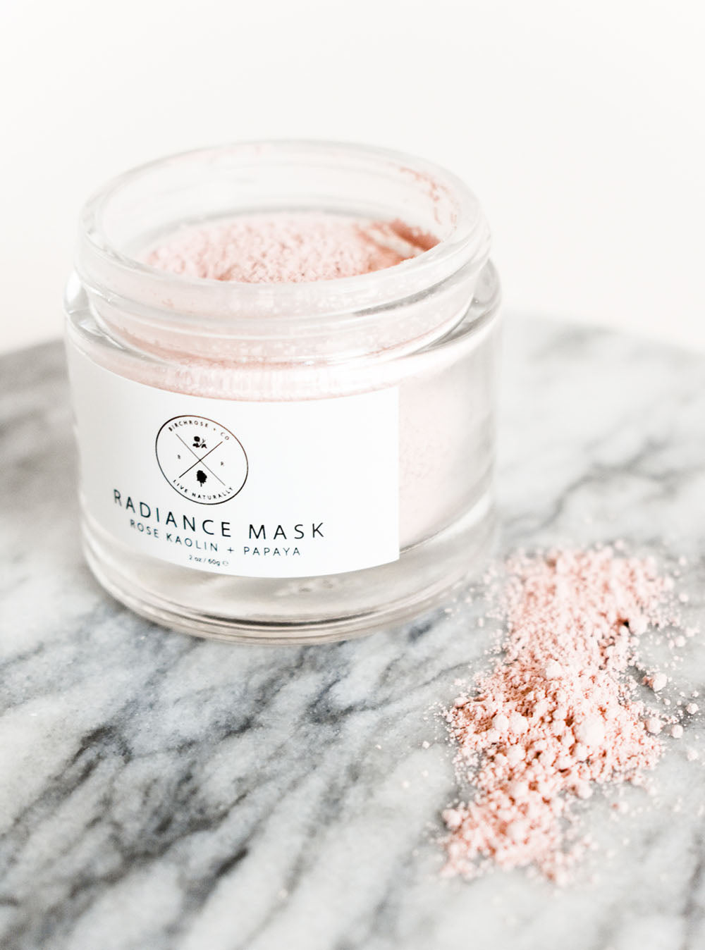 Rose + Papaya Radiance Face Mask