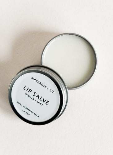 Vanilla + Mint Lip Salve