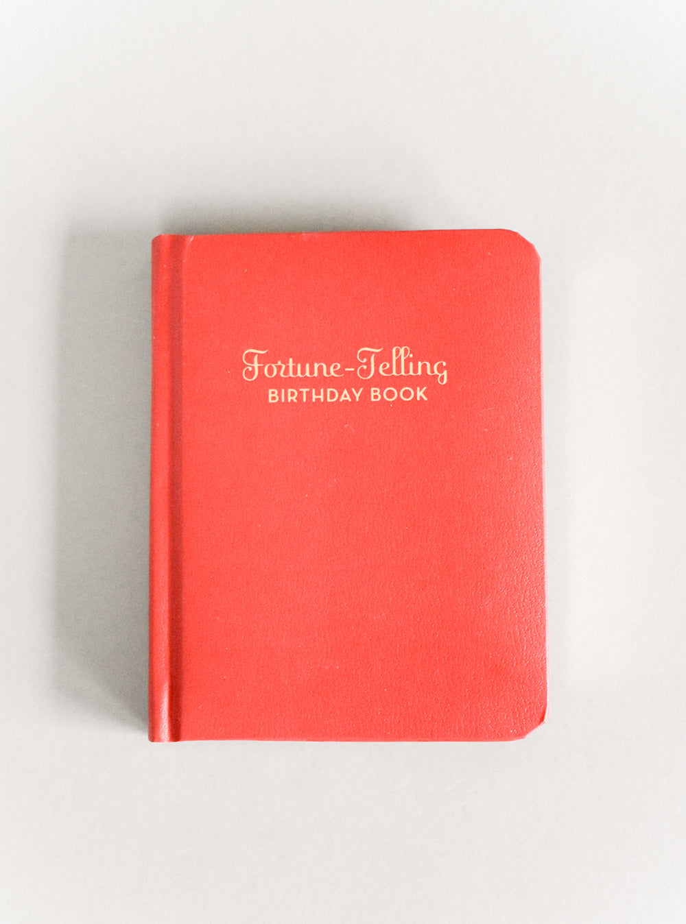 Fortune-Telling Birthday Book