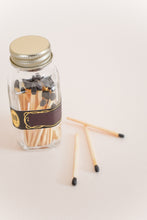 Black Self-Strike Mini Match Jar