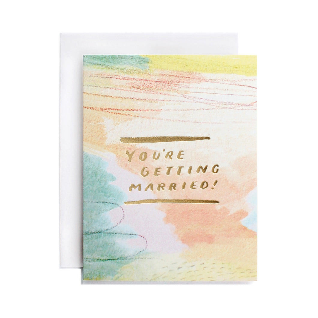 You're Getting Married! Card
