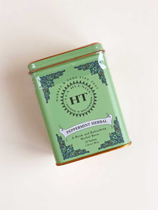 Peppermint Herbal Tea Tin