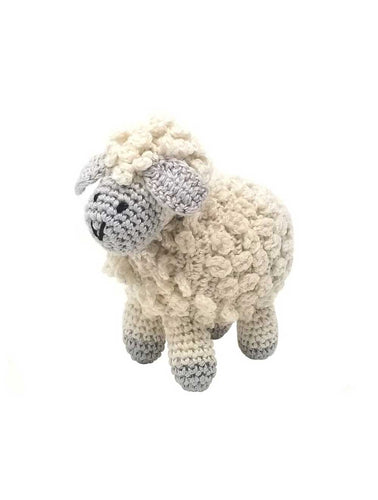Little Lamb Crochet Toy