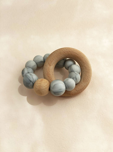 Marble Silicone Teether