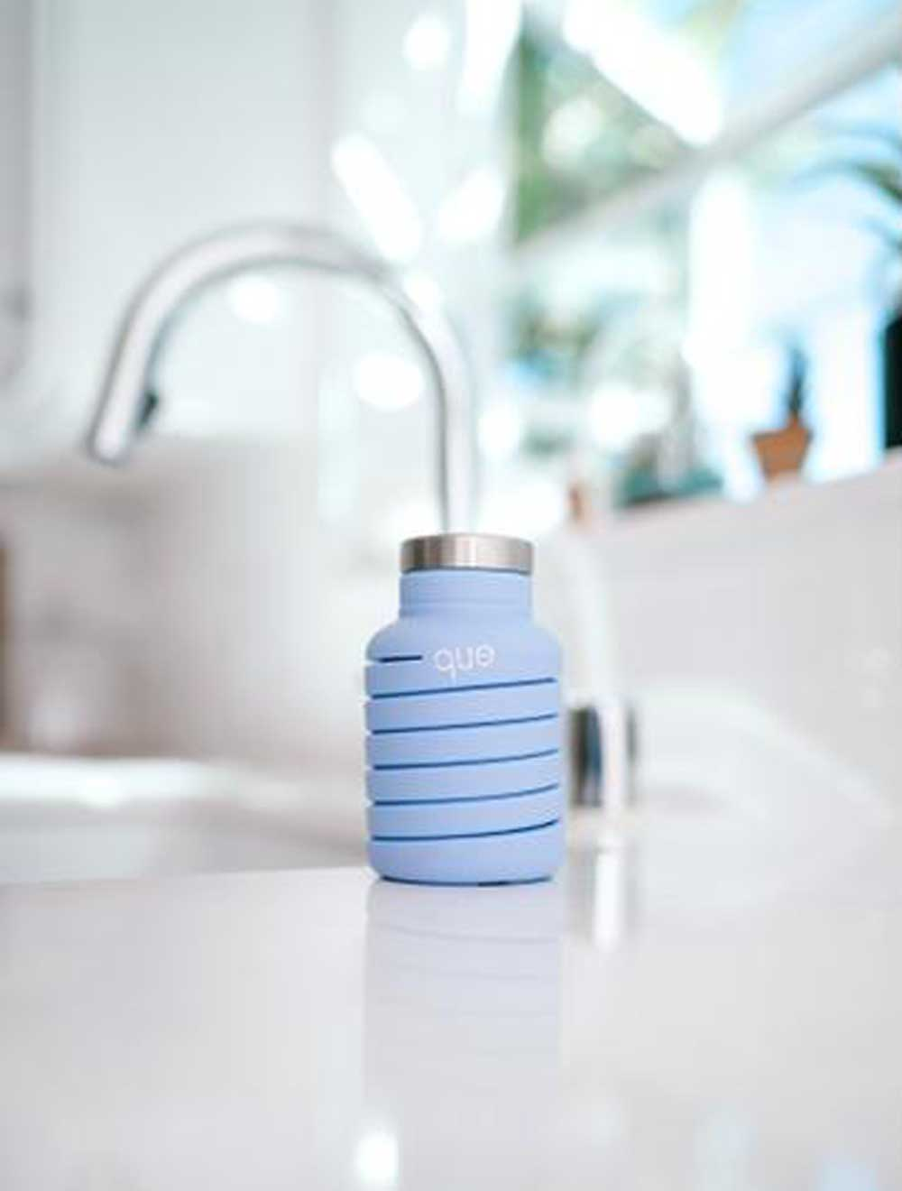 Collapsible Water Bottle  - Lilac