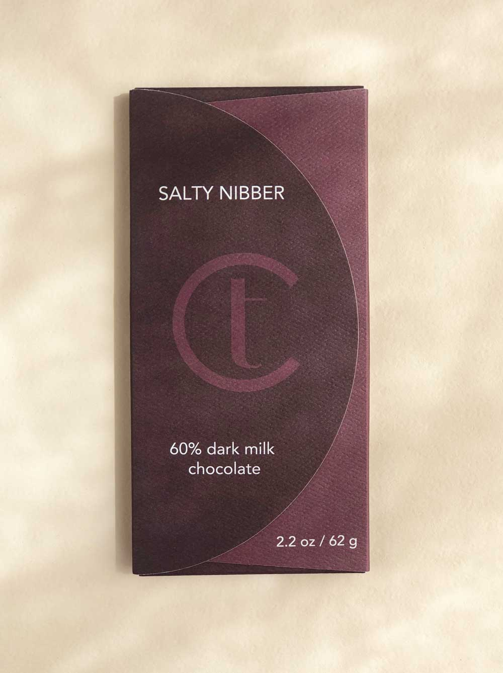 Salty Nibber Chocolate Bar