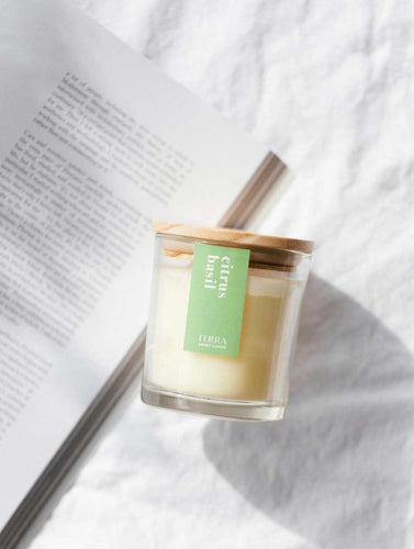 Citrus Basil Candle