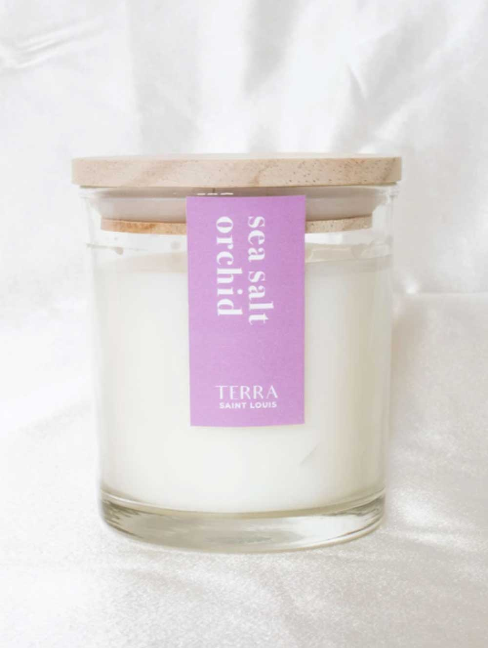 Sea Salt Orchid Candle