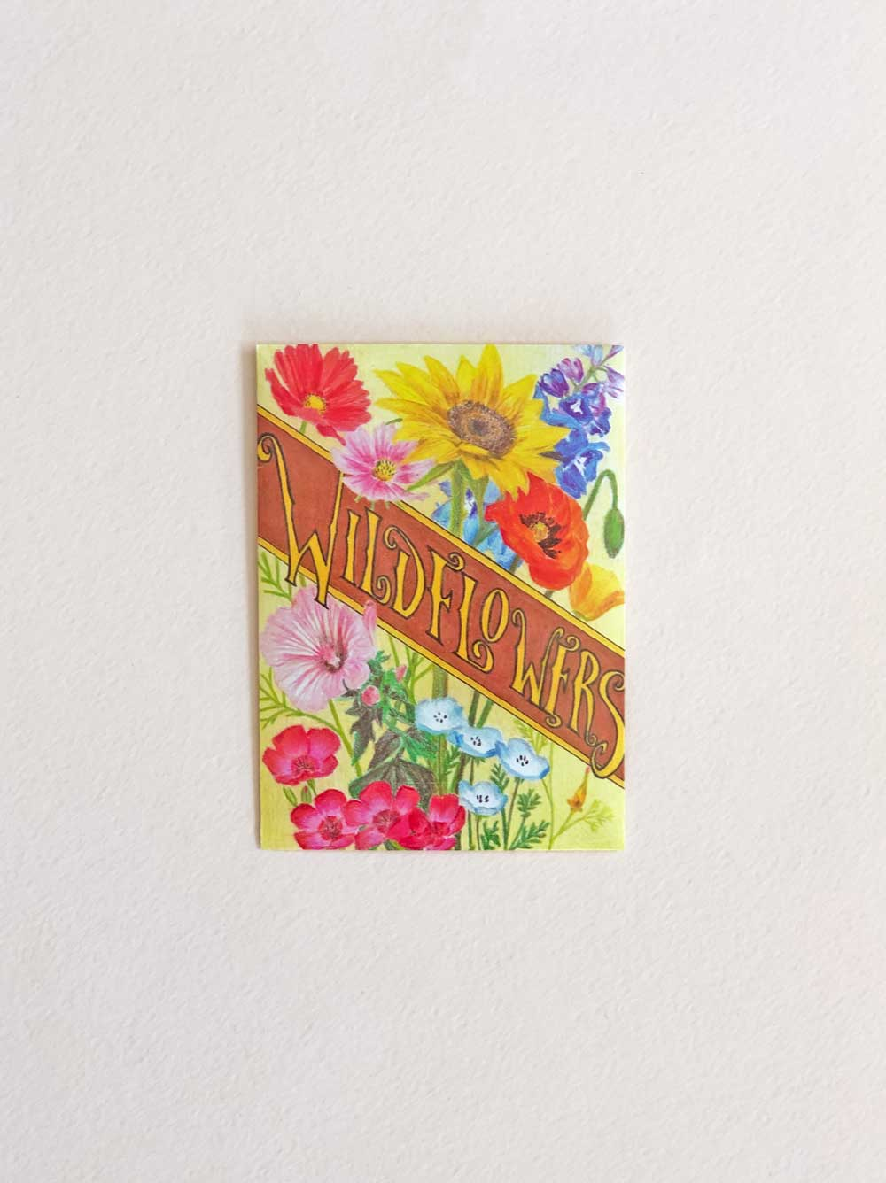 Wildflower Seeds Packet