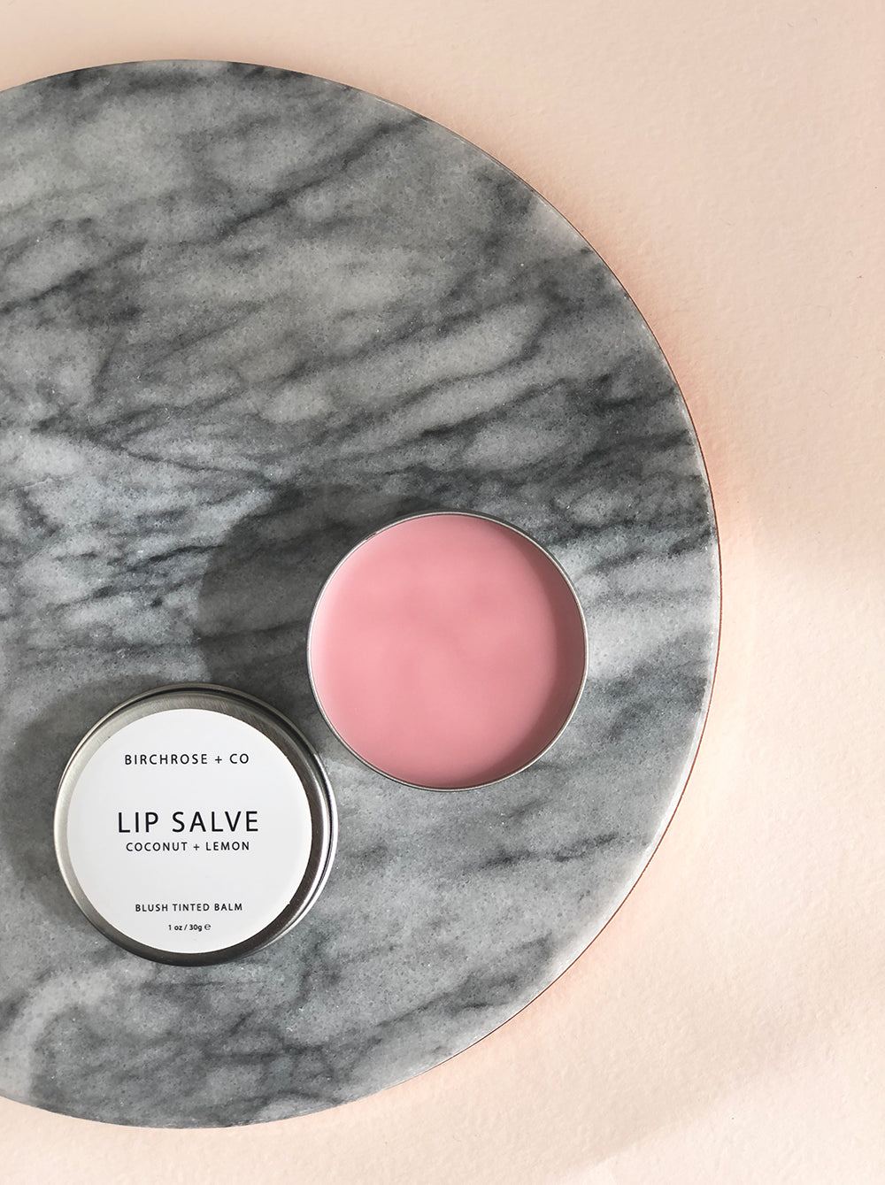 Coconut + Lemon Tinted Lip Salve