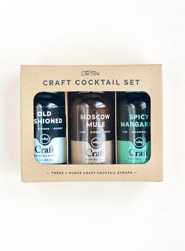 Craft Cocktail Minis Set