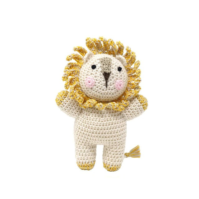 Little Lion Crochet Toy