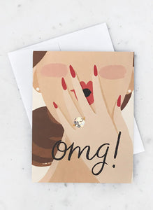 OMG You're Getting Married Card