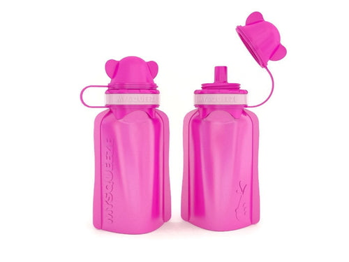 My Squeeze Reusable Pouch - Pink/Pink
