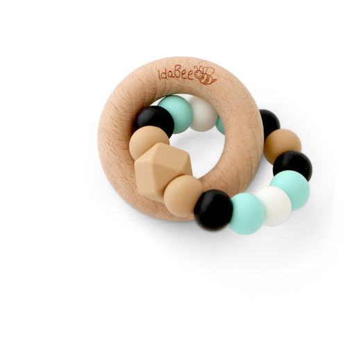 Idabee Ellipse Teether - Island Luxe