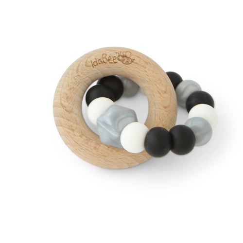 Idabee Ellipse Teether - Rock