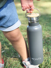 MontiiCo Insulated Drink Bottle - Grey