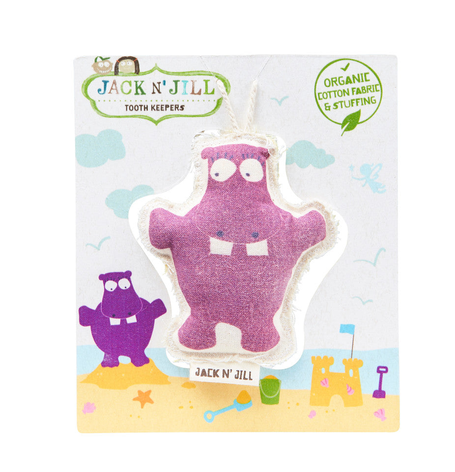 Jack N Jill Tooth Keeper - Hippo