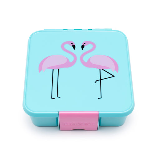 Little Lunch Box Co Bento Three - Flamingo
