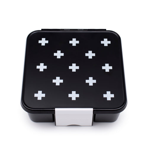 Little Lunch Box Co Bento Three - White Cross