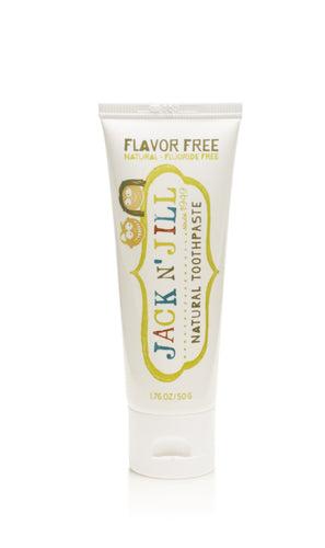 Jack N Jill Natural Toothpaste - Flavour Free