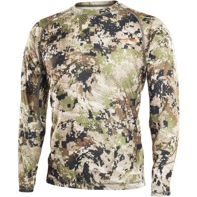 Core Lightweight Crew - Long Sleeve - Optifade Subalpine