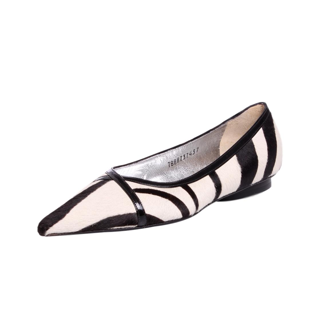 Dolce & Gabbana Ponyhair Slingback Flats Cheap Footlocker Pictures Clearance Find Great With Paypal Sale Online Clearance Supply View Cheap Price 8DGeJe0q