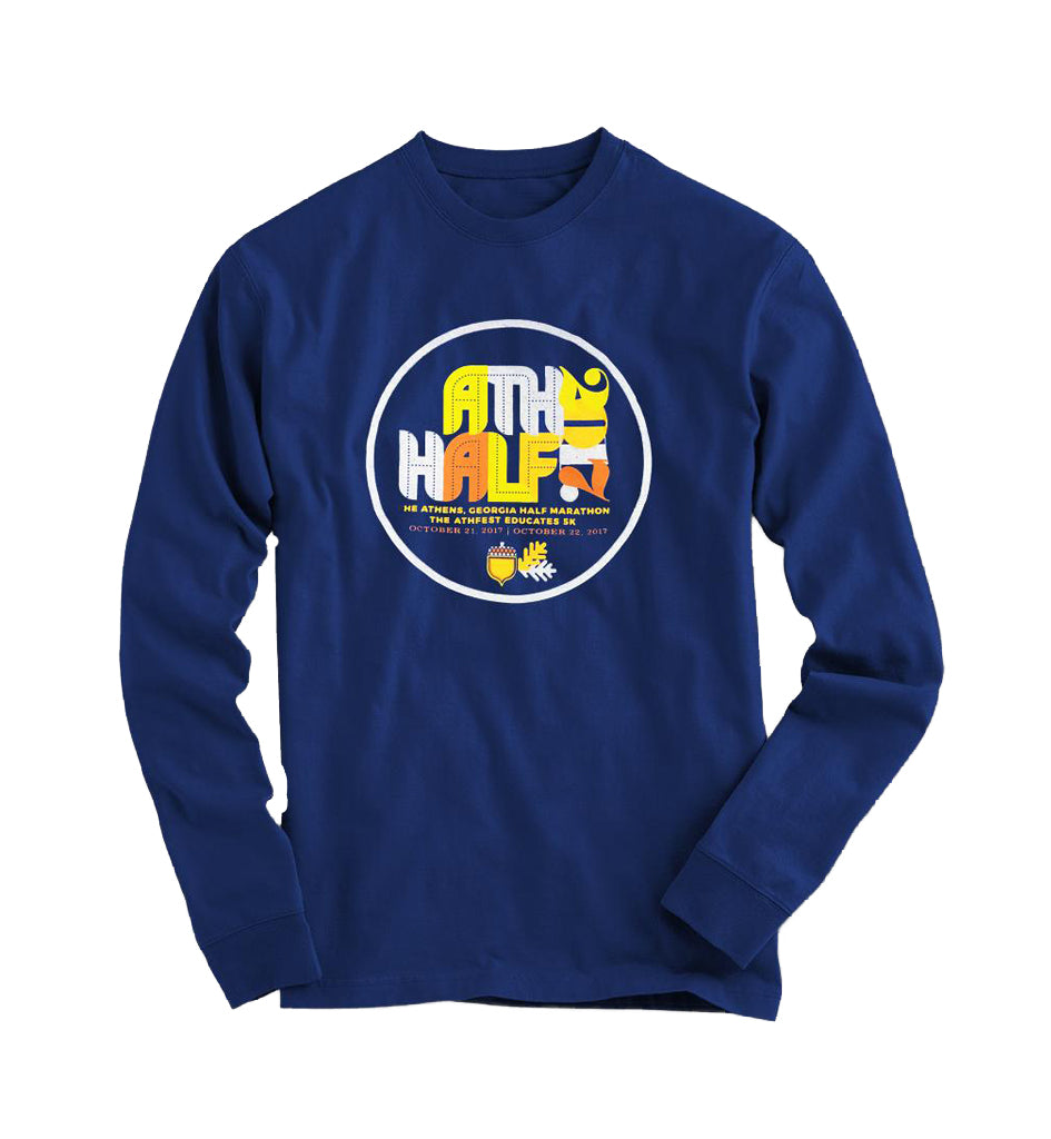 AthFest 2017 Blue Long-Sleeve T-Shirt