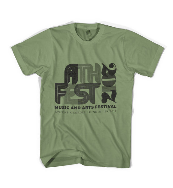 AthFest 2017 Green T-Shirt