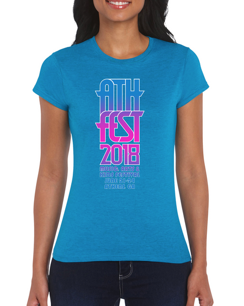 AthFest 2018 Ladies Tee