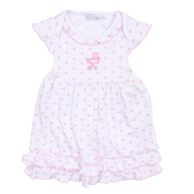 Embroidered Dress Set - Darling Pram