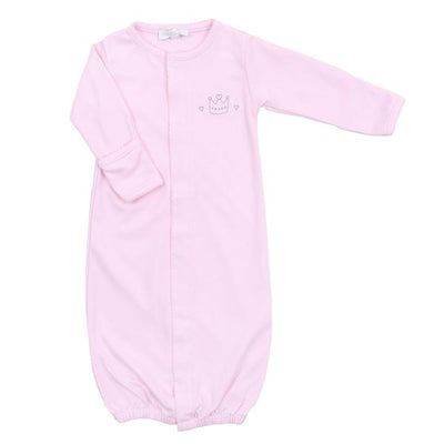 Royal Baby Pink Embroidered Converter