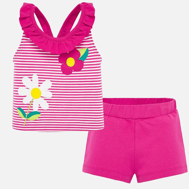 Flower Short Set