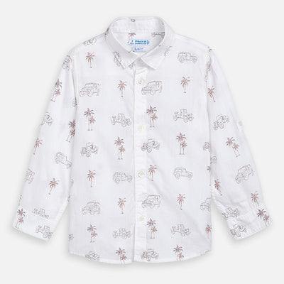 Tropical Button Up Shirt