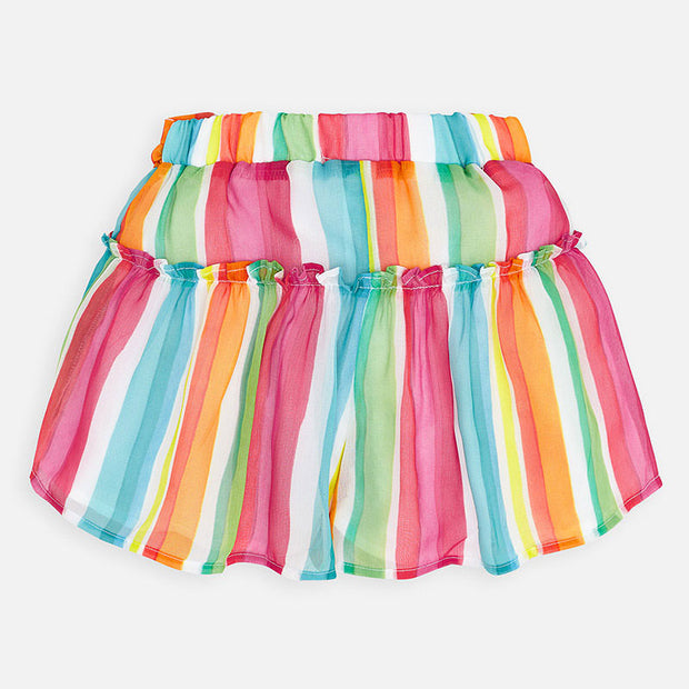 Rainbow Striped Shorts