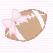 Love Football Applique Dress Set