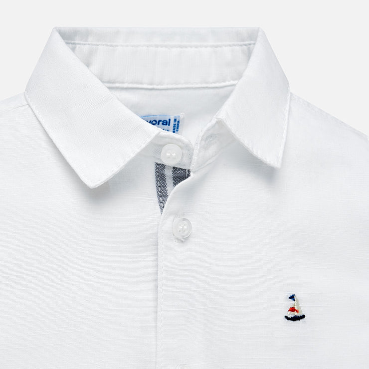 Sailboat Linen Short Set