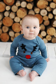 Red Nose Romper