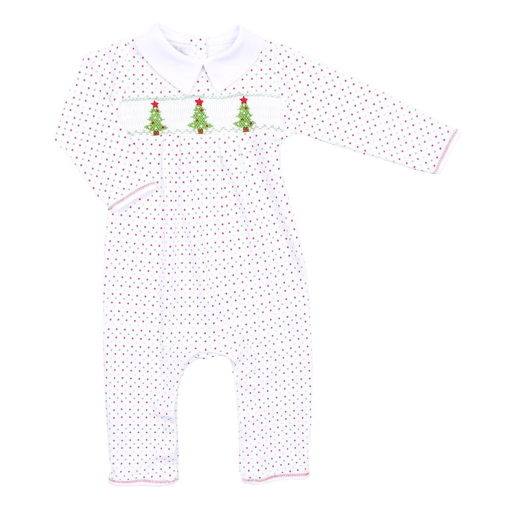 O Christmas Tree Collard Playsuit