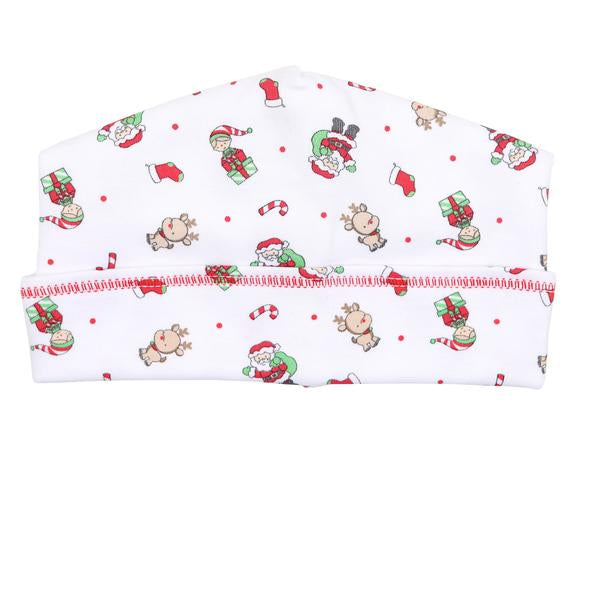 Santa's Helper Printed Hat