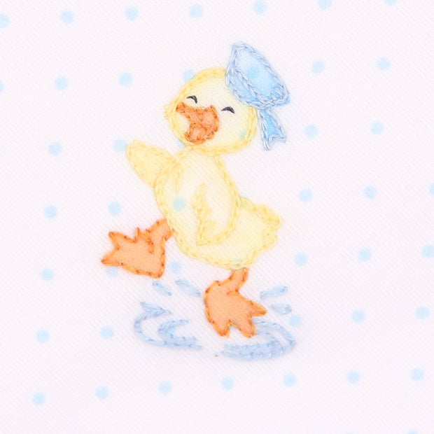 Embroidered Converter - Vintage Puddle Duck
