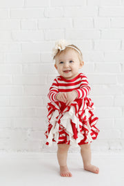 Lil' Candy Cane Twirl Dress