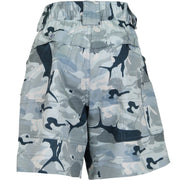 Grey Camo Original Fishing Shorts