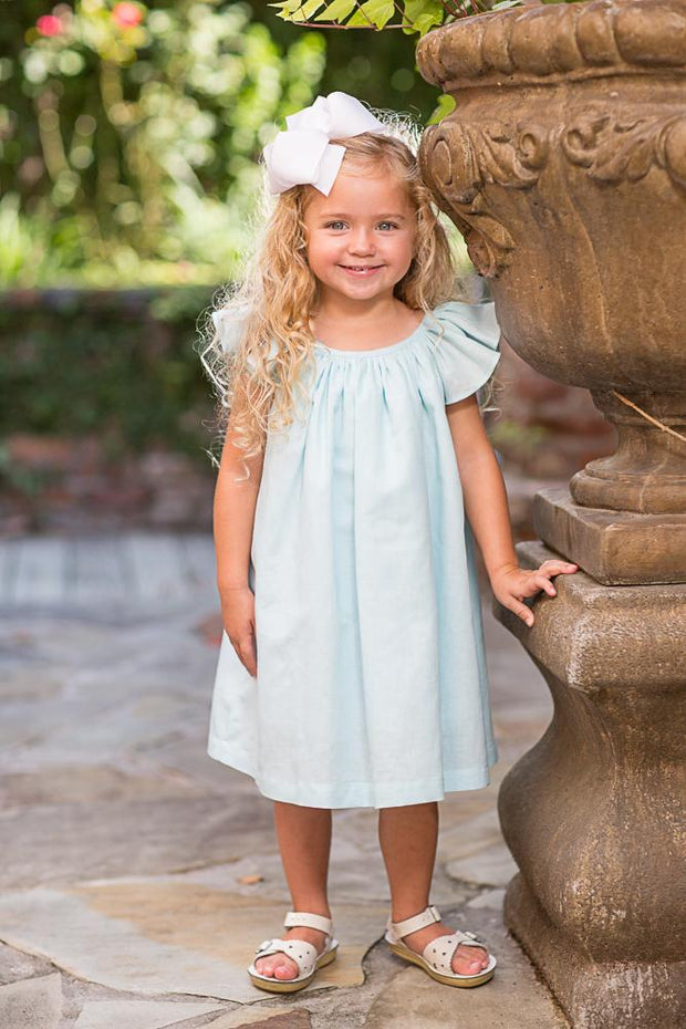 Edith Joy Linen Dress