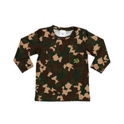 Camo Long Sleeve Performance Tee