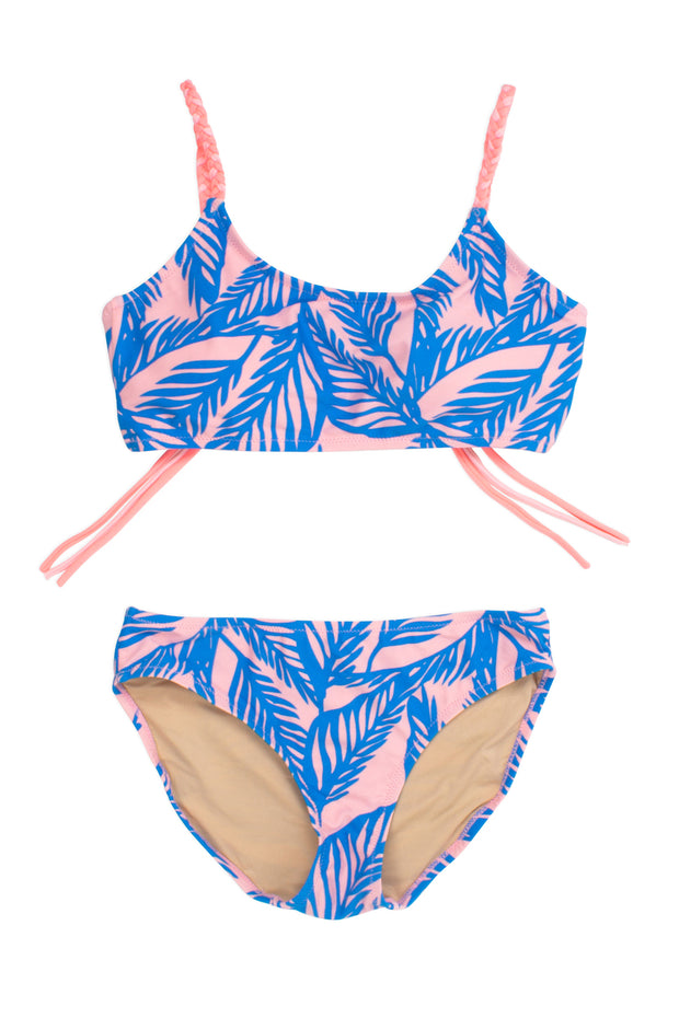Blue Palm Reader Bikini