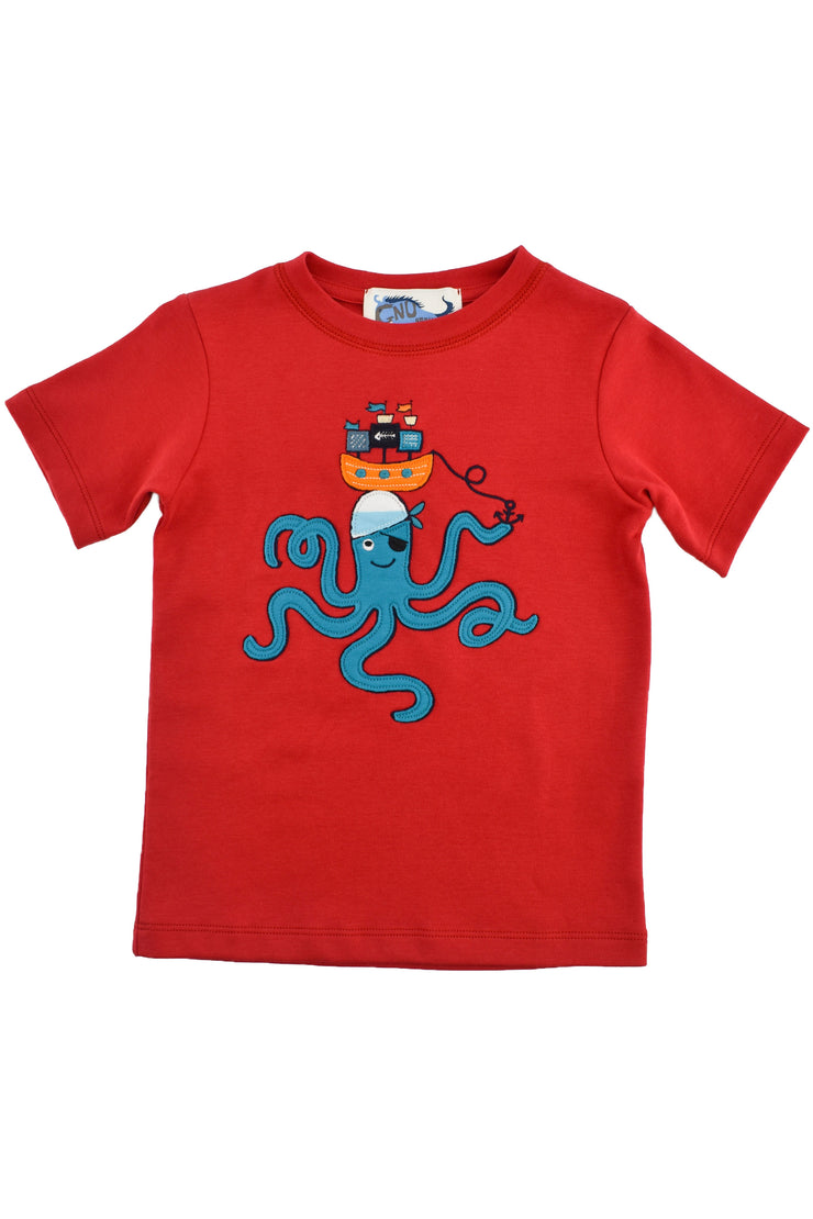 Pirate Octopus Tee